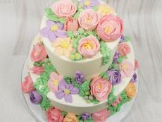 Buttercream pastel beauty